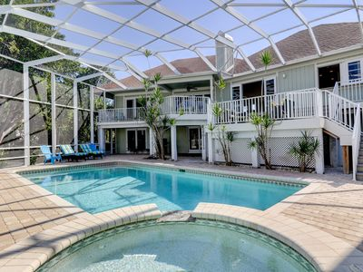 Photo for Beach Haven: Newly Furnished Luxury Home w/ Private Pool, Close to the Beach!