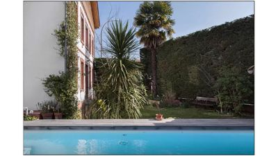 Photo for charming town house, garden, pool.
