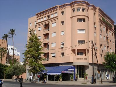 Photo for superb appartment centers Gueliz in the greenery 4 people