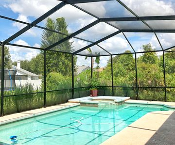 Photo for Spacious, Private screened pool, Central A/C, Gated community, WiFi