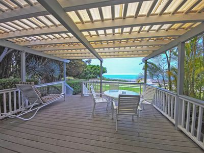 Photo for Kona cottage on working farm w/ deck & amazing sunset ocean views!