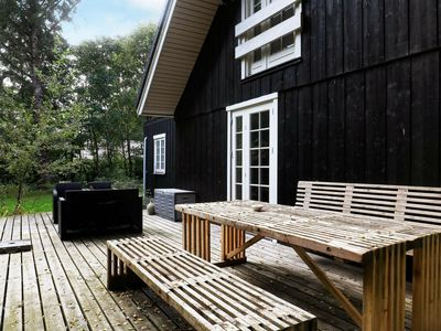 Photo for Cozy Holiday Home in Blavand Denmark with Sauna