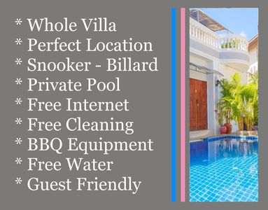 Photo for 6 Bedrooms Villa near Walking Street & Beach ★★★★★