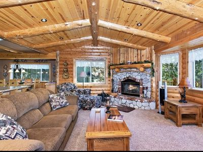 Photo for Cozy cabin in the heart of Moonridge