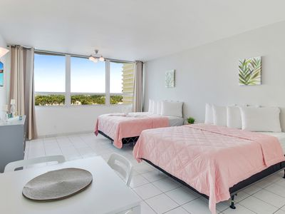 Photo for NEW PROPERTY! Beautiful suite in Miami Beach. Walk to the beach!