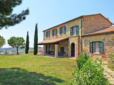 Photo for Vacation home Villa Debbio di Cocco  in Bibbona (LI), Riviera degli Etruschi - 10 persons, 5 bedrooms