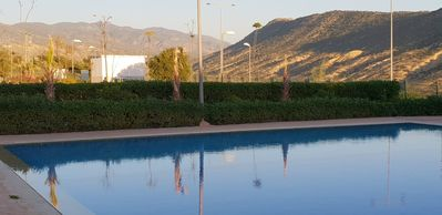 Photo for Lunja village imi ouaddar beach apartment with pool