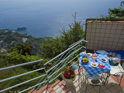 Photo for Holiday Apartment Alba in Furore Amalfi Coast