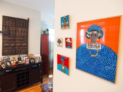 Photo for Classic Row House in DC - Art & Porch - Sleeps 7 - Free Parking