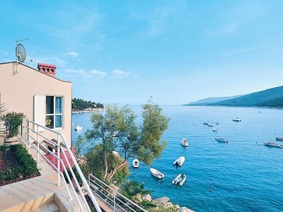 Photo for One bedroom Apartment, sleeps 3 in Rabac with Air Con and WiFi