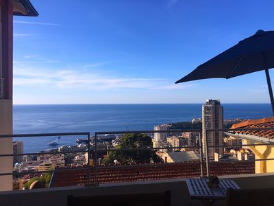 Photo for Monaco Sunset gorgeous apartment 900m from Place du Casino superpanoramico