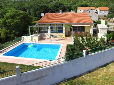Photo for 2 bedroom Villa, sleeps 5 in Prapatnica with Pool, Air Con and WiFi