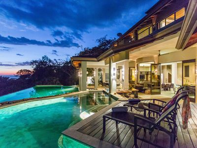 Photo for Spectacular Ocean Views! 3 Pools, Swim Up Bar, Luxury Living in The Tropics