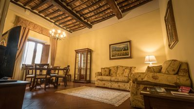 Photo for Elegant apartment in Piazza Grande Montepulciano