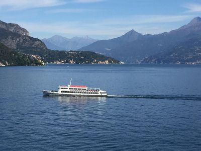 Photo for Apartment with stunning views of Lake Como