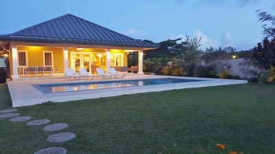 Photo for 4BR Luxury Villa In quiet & secure gated development close to airport, beaches
