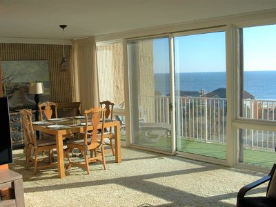 Photo for LINENS INCLUDED*!  VIEWS, VIEWS, VIEWS!  FROM EVERY ROOM, PRIVATE BEACH, COMMUNITY POOL & WIFI!