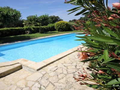 Photo for Spacious and quiet cottage in a stone mas in the countryside, near Grignan