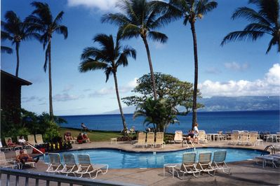 Oceanside Pool At Napili Shores Resort