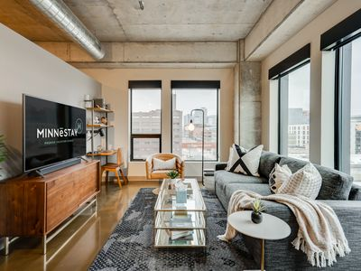 Photo for Minnestay* Sable 68 One Bedroom ♥ Walk to Shops/Bars/Dining ♥ Great North Loop L