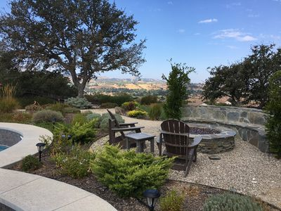 Property sits atop one of Paso Robles most scenic hilltops with stunning views!