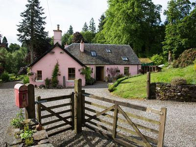 Photo for Beautiful Country Cottage with hot tub in private 2 acre garden