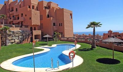 Photo for Luxury Duquesa 2 Bed Apartment With Sea Views - Free WIFI