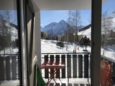 Photo for Beautiful apartment 4/6 people at the foot of the slopes