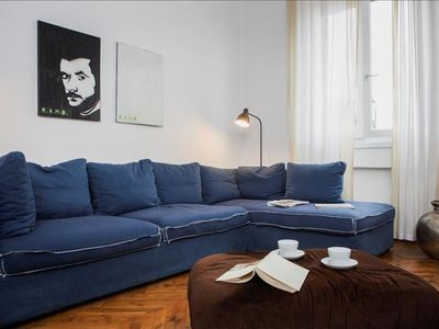 Photo for Spacious San Materno apartment in Città Studi with WiFi & lift.