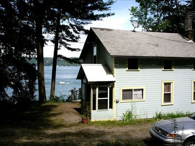 Photo for Twin Pines, Charming Cayuga Lakefront Cottage w/amazing views