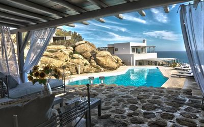 Photo for Villa Carina II, luxurious villa in Mykonos with sea view and big pool by Elite Estates.