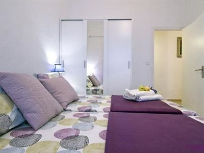Photo for Cozy ground floor apartment, wifi ...... Sitges