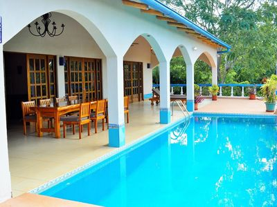 Photo for A Touch of Provence in the Rain Forest, Hacienda with Private Pool & Ocean View