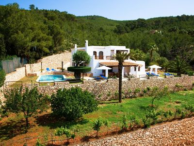 Photo for Fantastic Villa Can Maderus with Pool, Wi-Fi, Air Conditioning, Garden & Terraces; Parking Available