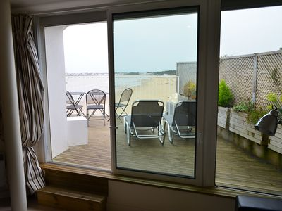 Photo for Superb studio on the sea view beach: Waterfront