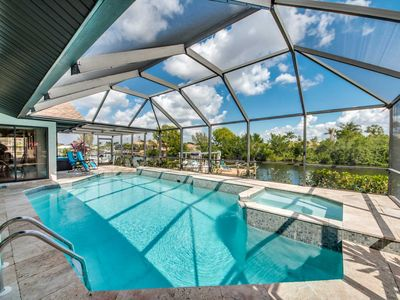 Photo for 33% OFF! - SWFL Rentals - Villa Alexa - Stunning Remodeled Pool Home on Intersecting Canals