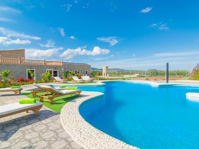 Photo for GRANJA SA VINYOTA 5 - Chalet with shared pool in Inca.