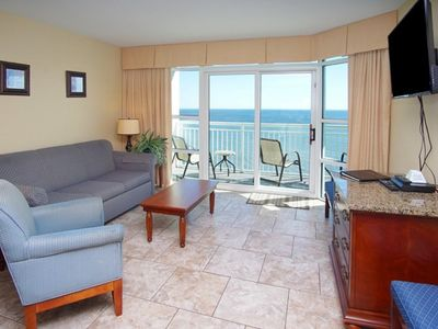 Photo for Carolinian Resort #1732, 2 BR Ocean Front Condo with Outdoor Pool, Hot Tub and Kiddie Pool