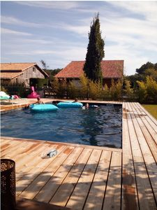 Photo for Villa Silver Coast.  Moliets and maa.  Villa of 160m2 with large pool.