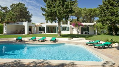 Photo for Clean&Safe villa, stunning private outdoor, wifi, pool, beach& town center 2,5km