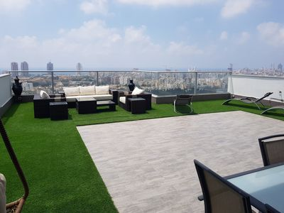 Photo for Exceptional penthouse of 150 m2 with 180 ° sea view and terrace of 130m2