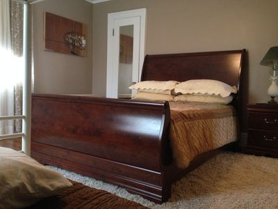 Spacious rooms queen size beds. and bunk bed