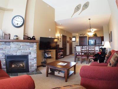 Photo for Upper floor 2 bedroom condo, very close to ski-in/out trails
