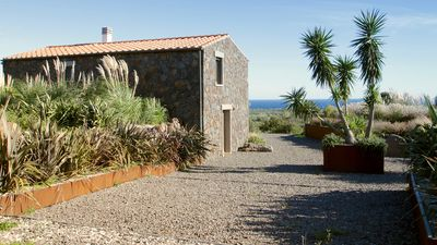 Photo for EXCLUSIVE STONE-LAND HOUSE WITH SEA VIEW-WiFi, air-conditioned, garden, sound system