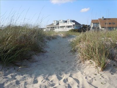 Direct beach access 21 invites you to the ocean.