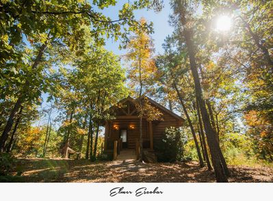 Private Luxury Log Cabin Getaway w/hot tub 20 minutes west of Little Rock -  Roland