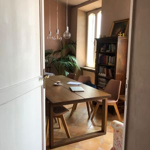 Photo for Panoramic view apartment with fireplace and bathtub. Located in historical environment.