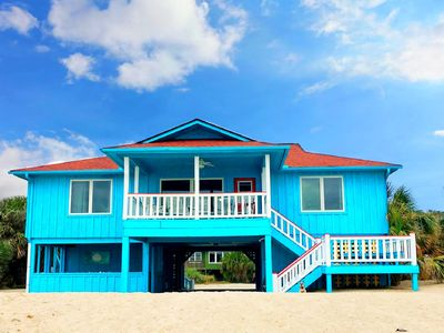 Photo for 4 Bedrooms, FOUR+ Baths; Direct Oceanfront, Covered Porch, Party Room, FP!