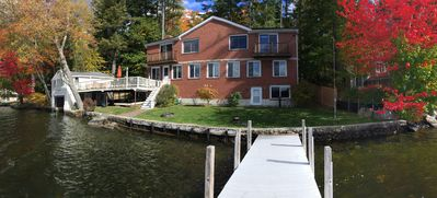 Photo for Amazing Waterfront House w/dock/views/sun on beautiful quiet lake