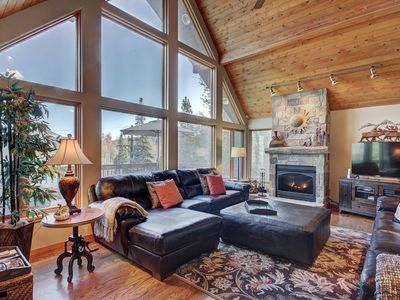 Photo for Moose Crossing  7 bed home has the most spectacular ski area/ mountain views